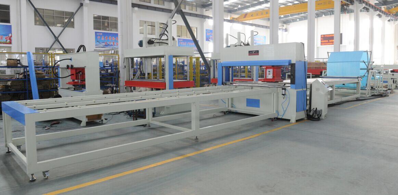XYJ-1/40 夹子整板步进送料全自动面膜裁切机生产线